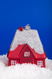 Christmas toy-house Royalty Free Stock Image