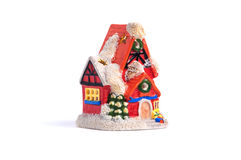 Christmas toy house Stock Photography