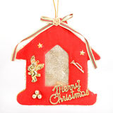 Christmas toy house Royalty Free Stock Photo