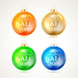 Christmas toy. Christmas toy isolated on white background. Vector illustration Stock Photo