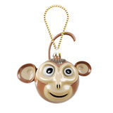 Christmas Toy monkey Royalty Free Stock Images