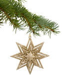 Christmas toy in the shape of a star Stock Photo