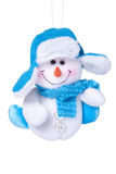 Christmas toy Snowman Royalty Free Stock Image