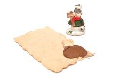 Christmas toy snowman Royalty Free Stock Photo