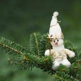Christmas toy snowman Stock Photo