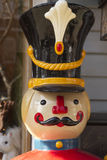 Christmas Toy Soldier Face Icon Royalty Free Stock Photos