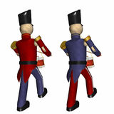 Christmas Toy Soldiers Royalty Free Stock Photography