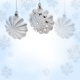 Christmas toy. Christmas star on white background Royalty Free Stock Image