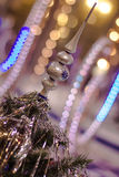 Christmas toy. On a Christmas tree Royalty Free Stock Photography