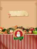 Christmas - toys background Royalty Free Stock Image