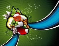 Christmas toys  background Stock Photography