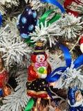Christmas toys background. Stock Photo