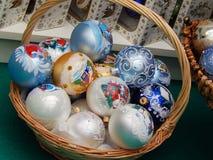Christmas toys background. Stock Image