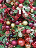 Christmas toys background. September, 2013 Royalty Free Stock Photography
