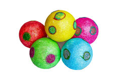 Christmas toys. Bright and colorful Royalty Free Stock Photography