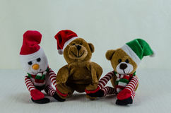 Christmas toys decoration Royalty Free Stock Image