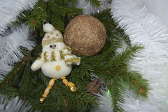 Christmas toys in the form of angels Royalty Free Stock Photo