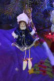 Christmas toys in the form of a Snow Maiden Royalty Free Stock Images