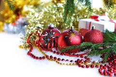 Christmas toys and gifts Stock Image