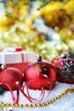 Christmas toys and gifts Stock Photography