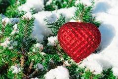 Christmas Toys Heart Stock Photos
