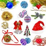 Christmas toys set Stock Photo