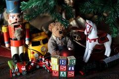 Christmas Vintage Toys Stock Image