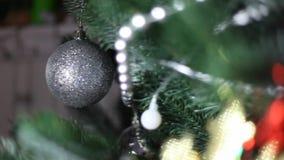 Christmas toys stock video