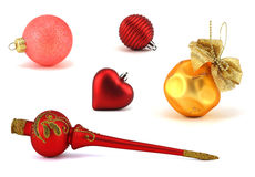 Christmas toys Stock Images