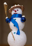 Christmas toysnowman Stock Images