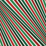 Christmas traditional colors diagonal striped pattern. Lined abstract background. Modern style geometric surface texture. Christmas traditional colors diagonal Royalty Free Stock Images
