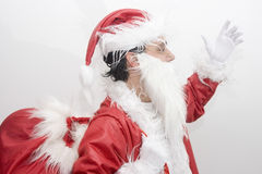 Christmas traditional Santa Claus Stock Images