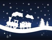 Free Christmas Train Royalty Free Stock Photos - 15184428