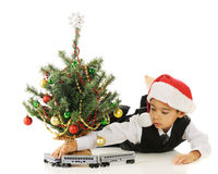 Christmas Train Stock Photography