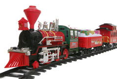 Christmas Train Royalty Free Stock Image