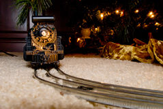 Christmas Train Royalty Free Stock Photos