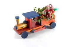 Christmas train alpha Stock Image