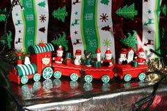 Christmas train Stock Photo