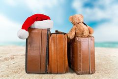 Christmas Travel Royalty Free Stock Photos