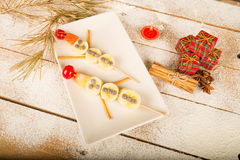 Christmas treat for kids Royalty Free Stock Photography