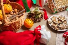 Christmas treats Royalty Free Stock Photos