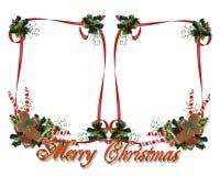 Christmas Treats Border Double Royalty Free Stock Photos