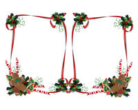 Christmas treats Border Double Stock Photo
