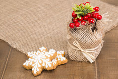 Christmas treats for children and adults Royalty Free Stock Images