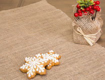 Christmas treats for children and adults Stock Image