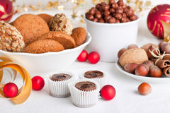 Christmas treats Royalty Free Stock Photo