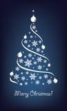 Christmas tree. Christmas background with Christmas trees Royalty Free Stock Photo