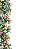 Christmas Tree. Decoration. Over white background Royalty Free Stock Image