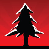 Christmas Tree. Vector illustration of a christmas tree Royalty Free Stock Photography