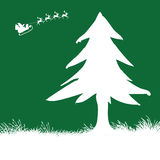 Christmas Tree. Vector illustration of a christmas tree Stock Photography